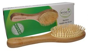 Beyond 100 Naturals Bamboo Paddle Brush