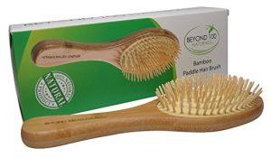 Beyond 100 Naturals Bamboo Paddle Brush