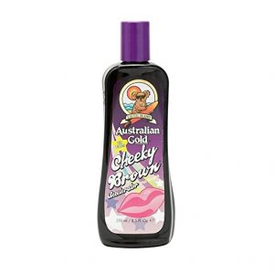 Australian Gold CHEEKY BROWN Accelerator Dark Natural Bronzers Tanning Bed Lotion