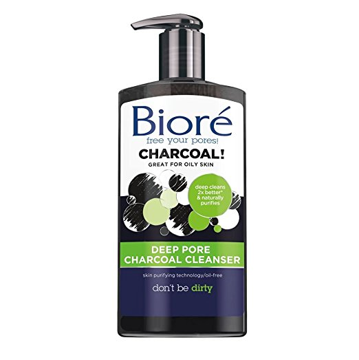 Biore Deep Pore Charcoal Cleanser for Oily Skin