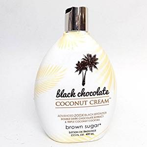 Brown Sugar BLACK CHOCOLATE COCONUT CREAM 200X Bronzer