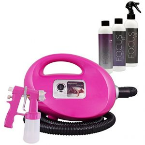 Fascination Spray Tanning Kit Machine with Airbrush Tanning Solution