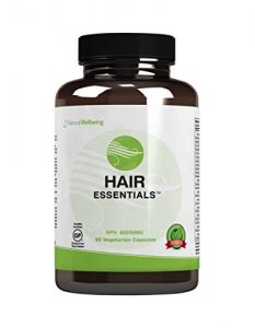Hair Essentials Natural Hair Growth Supplement for Women and Men