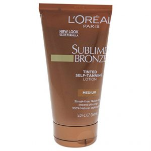 L'Oreal Paris Sublime Bronze Tinted Self-Tanning Lotion
