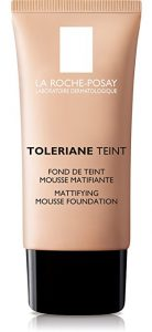 La Roche-Posay Toleriane Teint Mattifying Mousse Matte Foundation for Oily Skin & Sensitive Skin