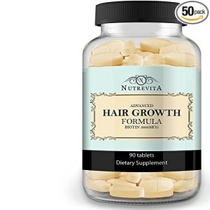 Nutrevita Biotin Vitamins For Hair Growth