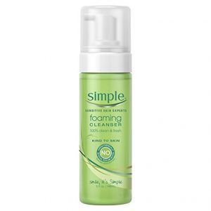 Simple Facial Care, Foaming Facial Cleanser