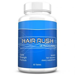 Ultrax Labs Hair Rush Solubilized Keratin Supplement
