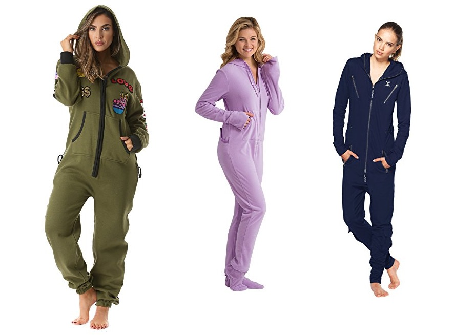 Best Women Jumpsuits Footed Pajamas & Onesies