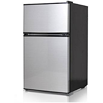 Midea WHD-113FSS1 Double Reversible Door Refrigerator and Freezer