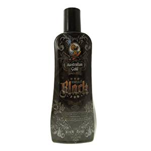 Australian Gold Sinfully Black 15x Deep Dark Bronzing Tanning Lotion