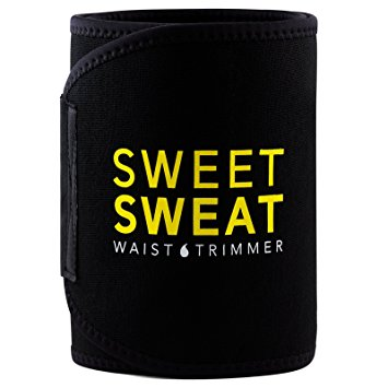 Sports Research Sweet Sweat Premium Waist Trimmer for Men and Women