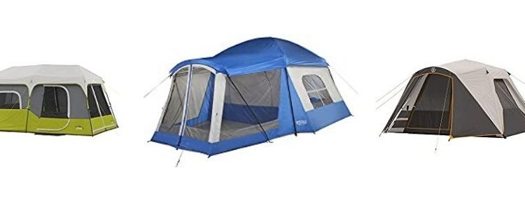 camping tent with ac